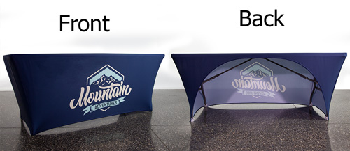 3-Sided Stretch Table Covers