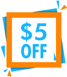 $5 off $25 orders