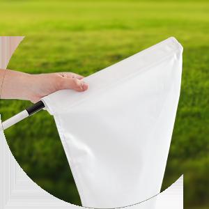 Golf Flag Setup Step 3
