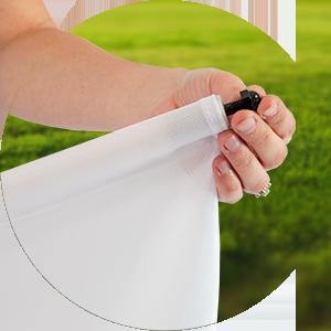 Golf Flag Setup Step 4