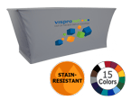Logo Only Stain Resistant Stretch Table Throw
