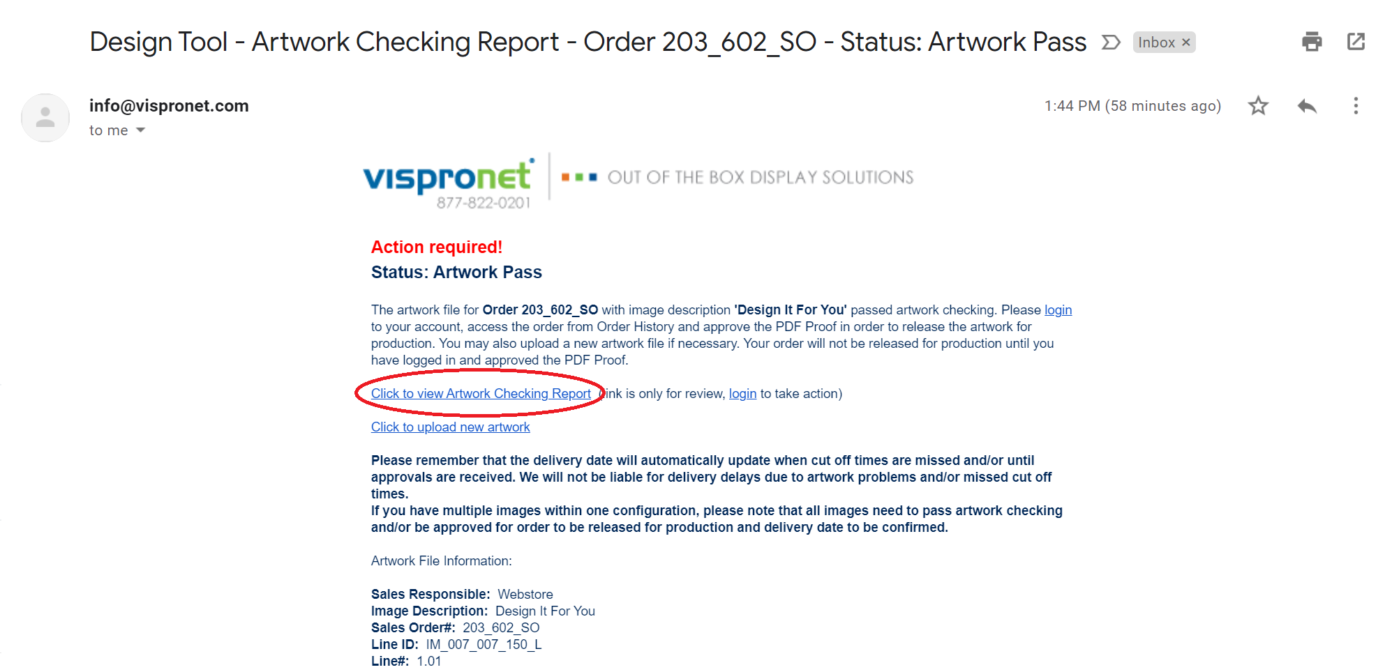 Step 3: Receive a Final Proof via Email